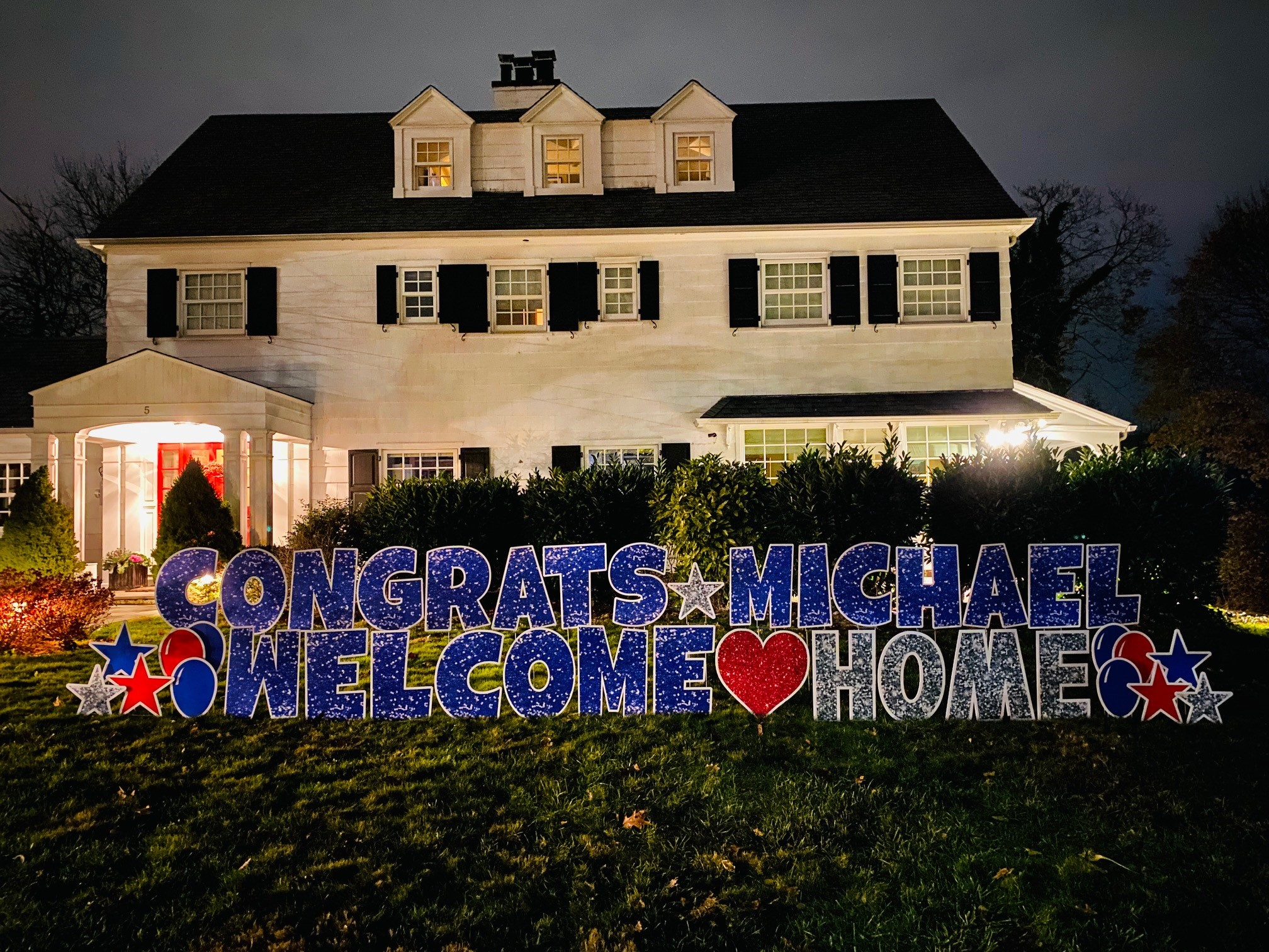 Congrats Michael
